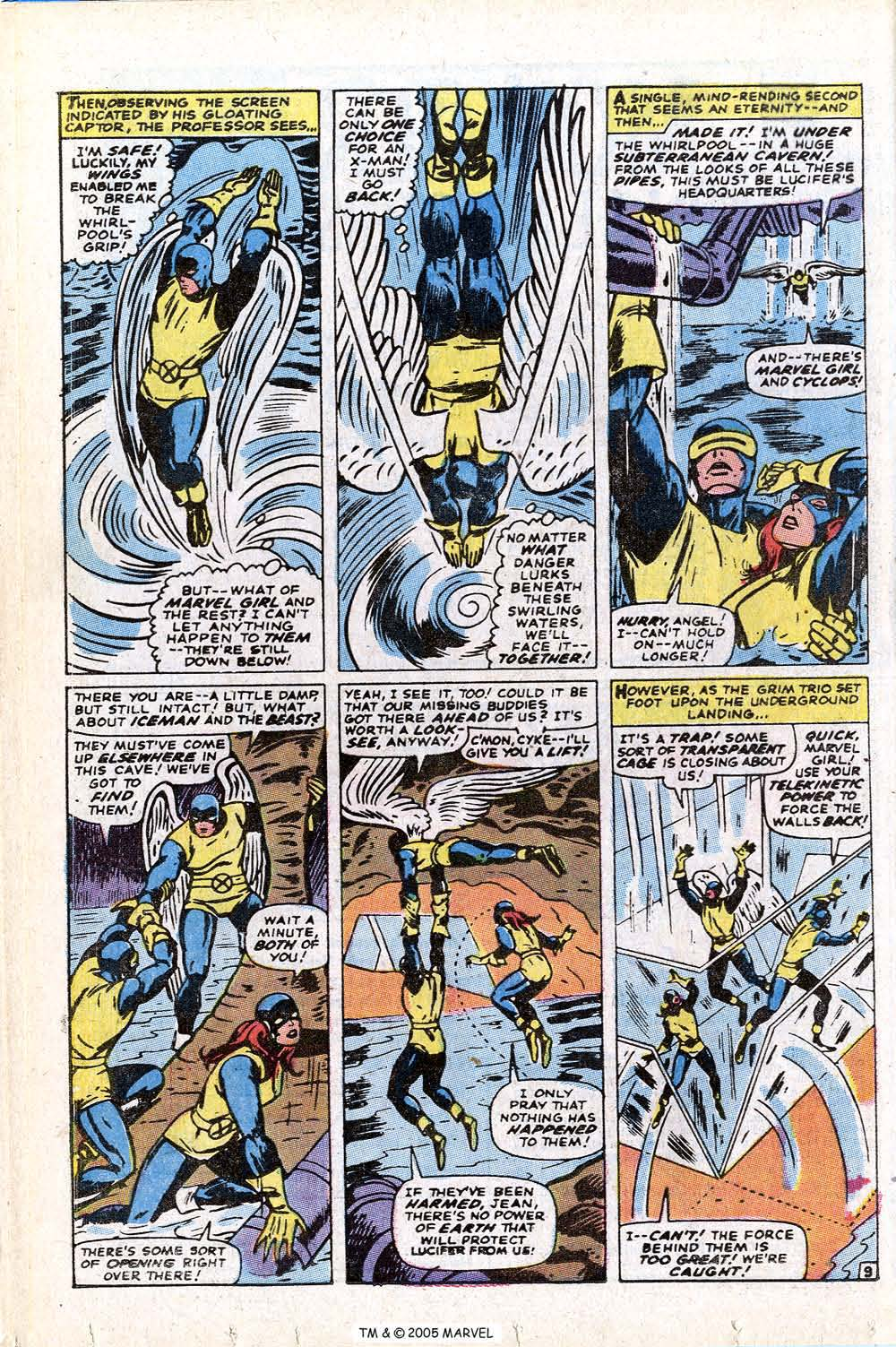 Read online Uncanny X-Men (1963) comic -  Issue #72 - 12