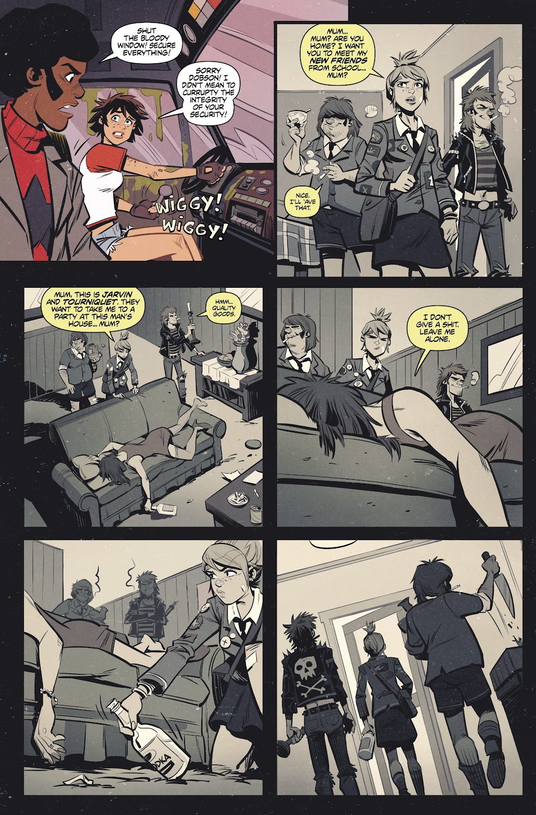 Read online Tank Girl Ongoing comic -  Issue #2 - 19