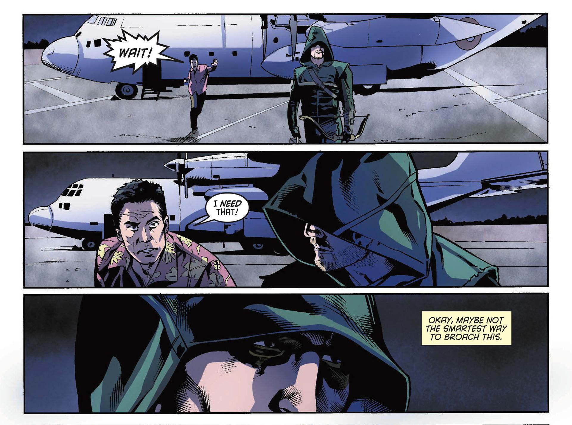 Read online Arrow [II] comic -  Issue #34 - 15