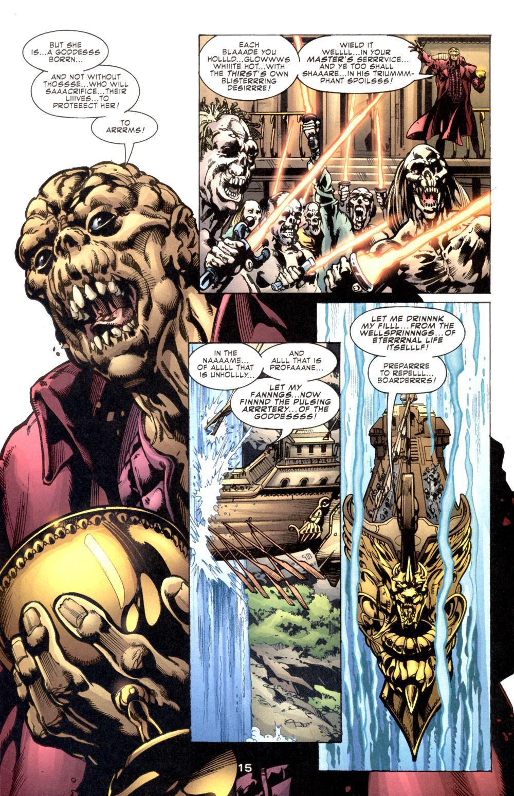 Read online Aquaman (2003) comic -  Issue #6 - 17