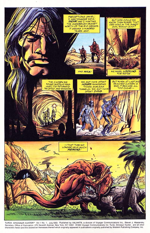 Read online Turok, Dinosaur Hunter (1993) comic -  Issue #1 - 3