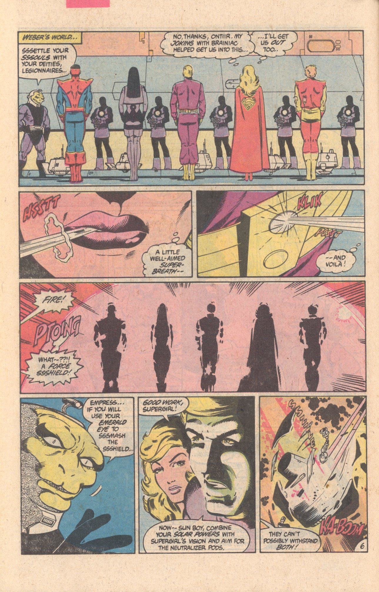 Legion of Super-Heroes (1980) 303 Page 6