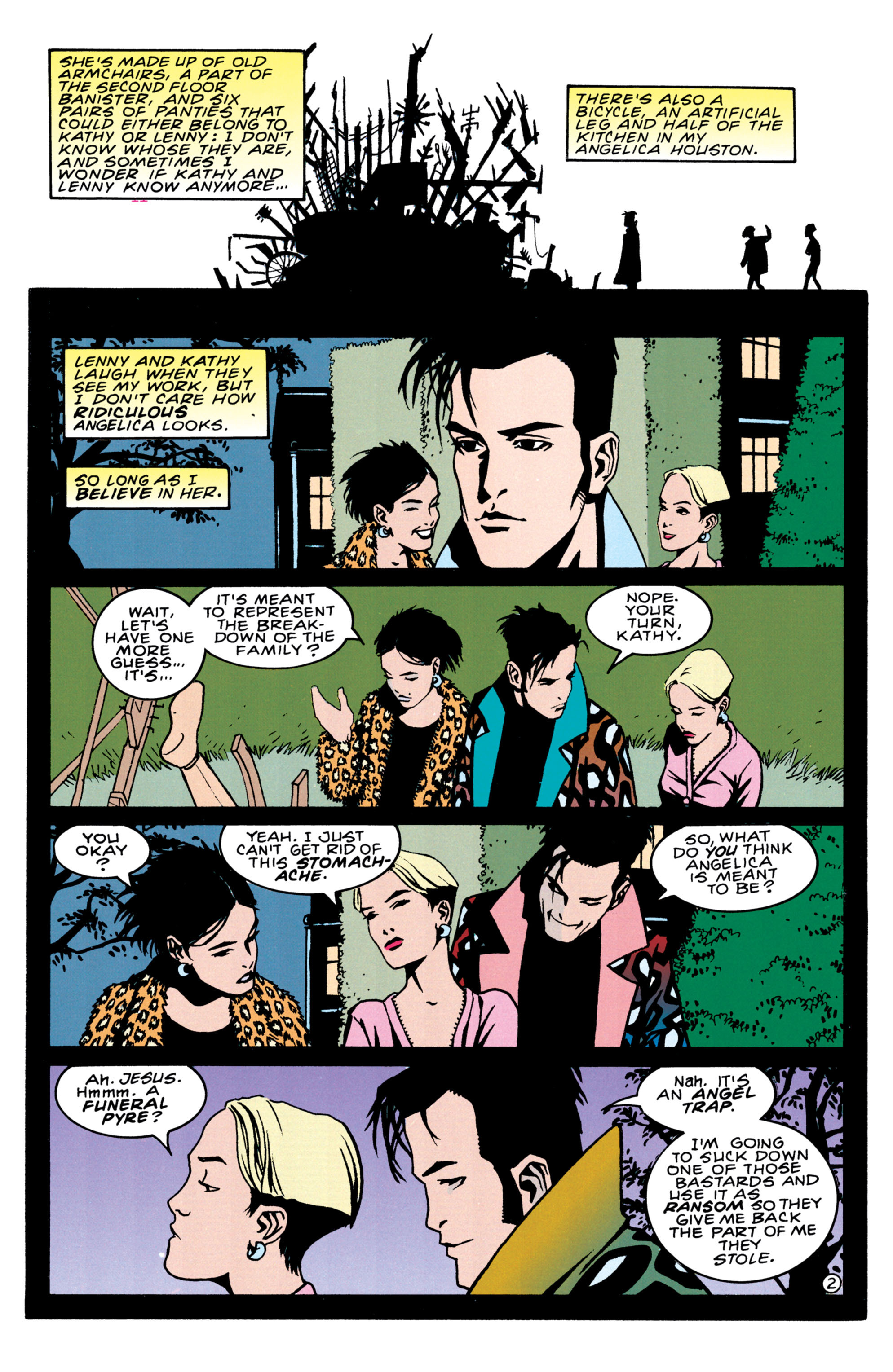 Read online Shade, the Changing Man comic -  Issue #41 - 3