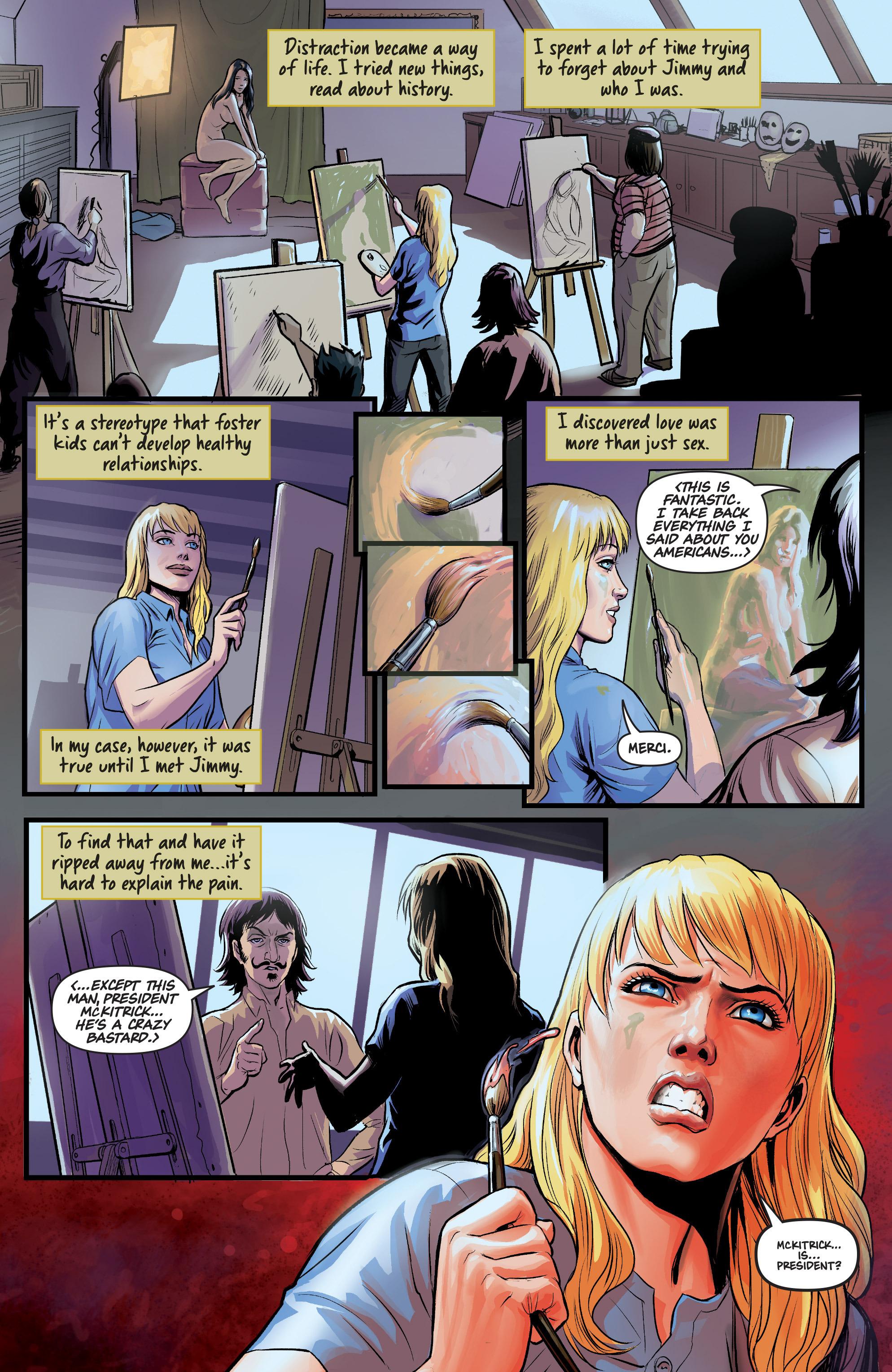 Read online Samaritan: Vertias comic -  Issue #1 - 9