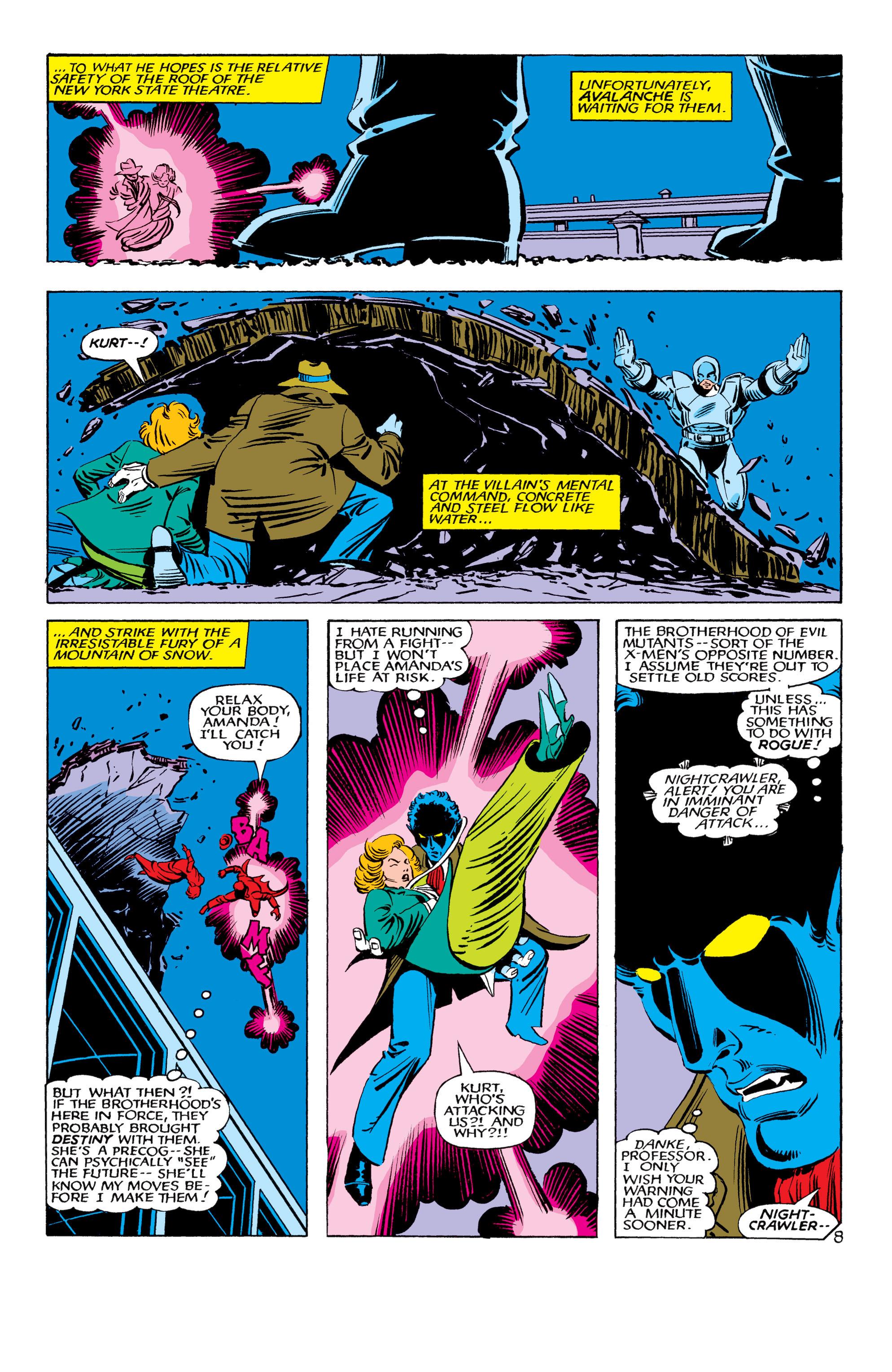 Read online Uncanny X-Men (1963) comic -  Issue #178 - 9