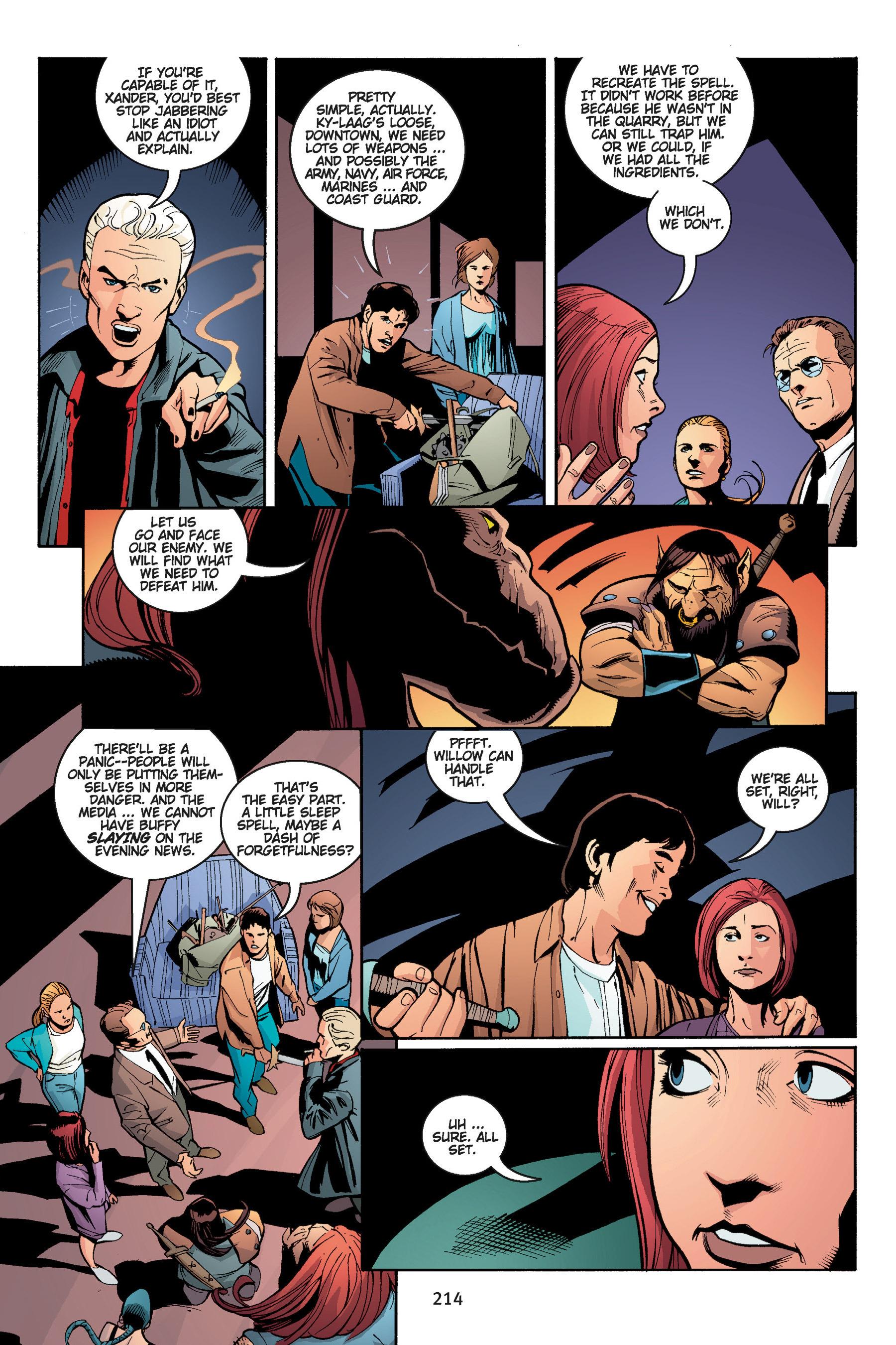 Read online Buffy the Vampire Slayer: Omnibus comic -  Issue # TPB 5 - 214