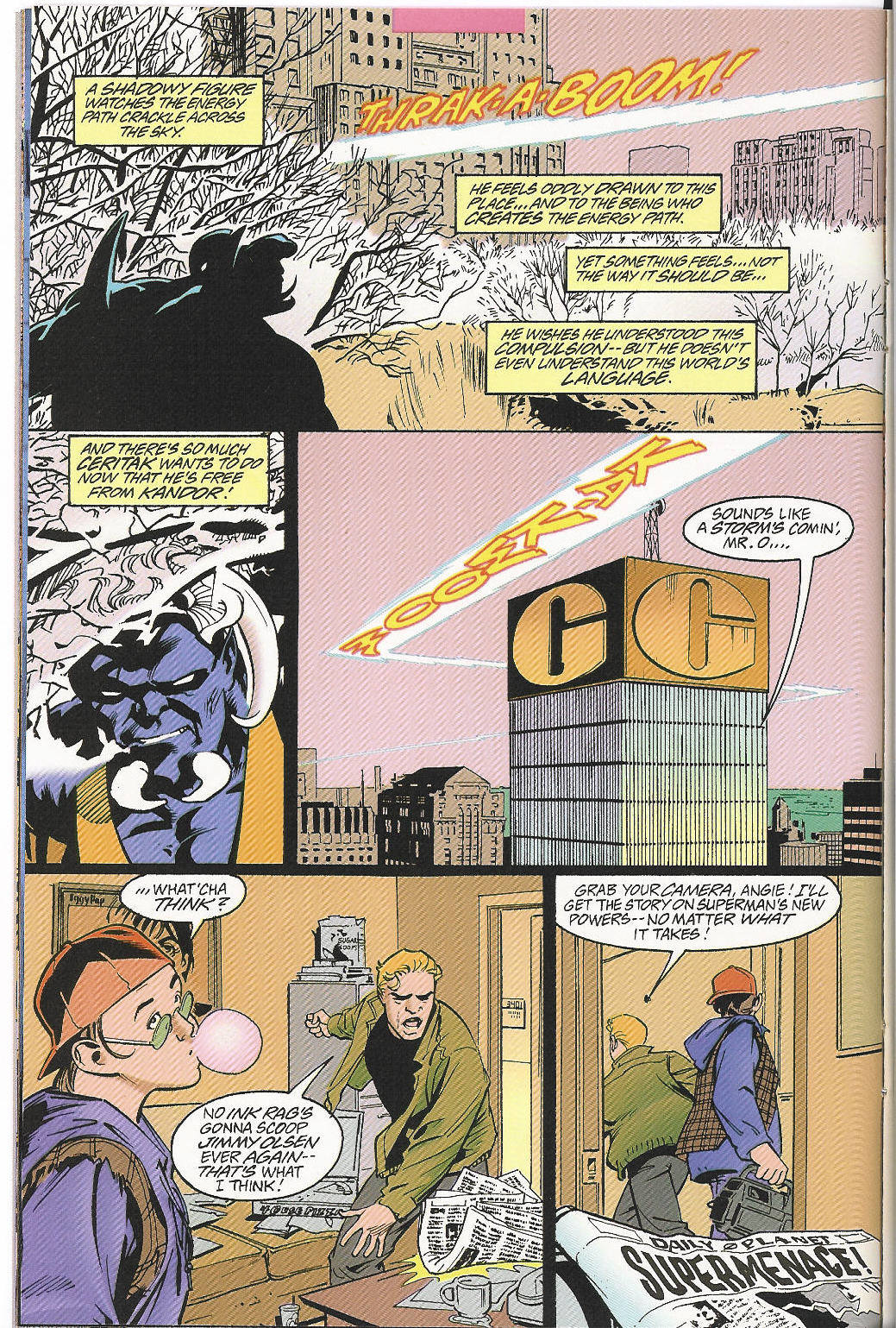 Read online Adventures of Superman (1987) comic -  Issue #546 - 9