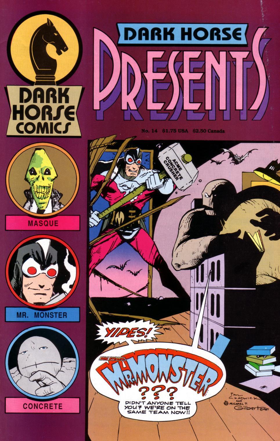 Dark Horse Presents (1986) 14 Page 1