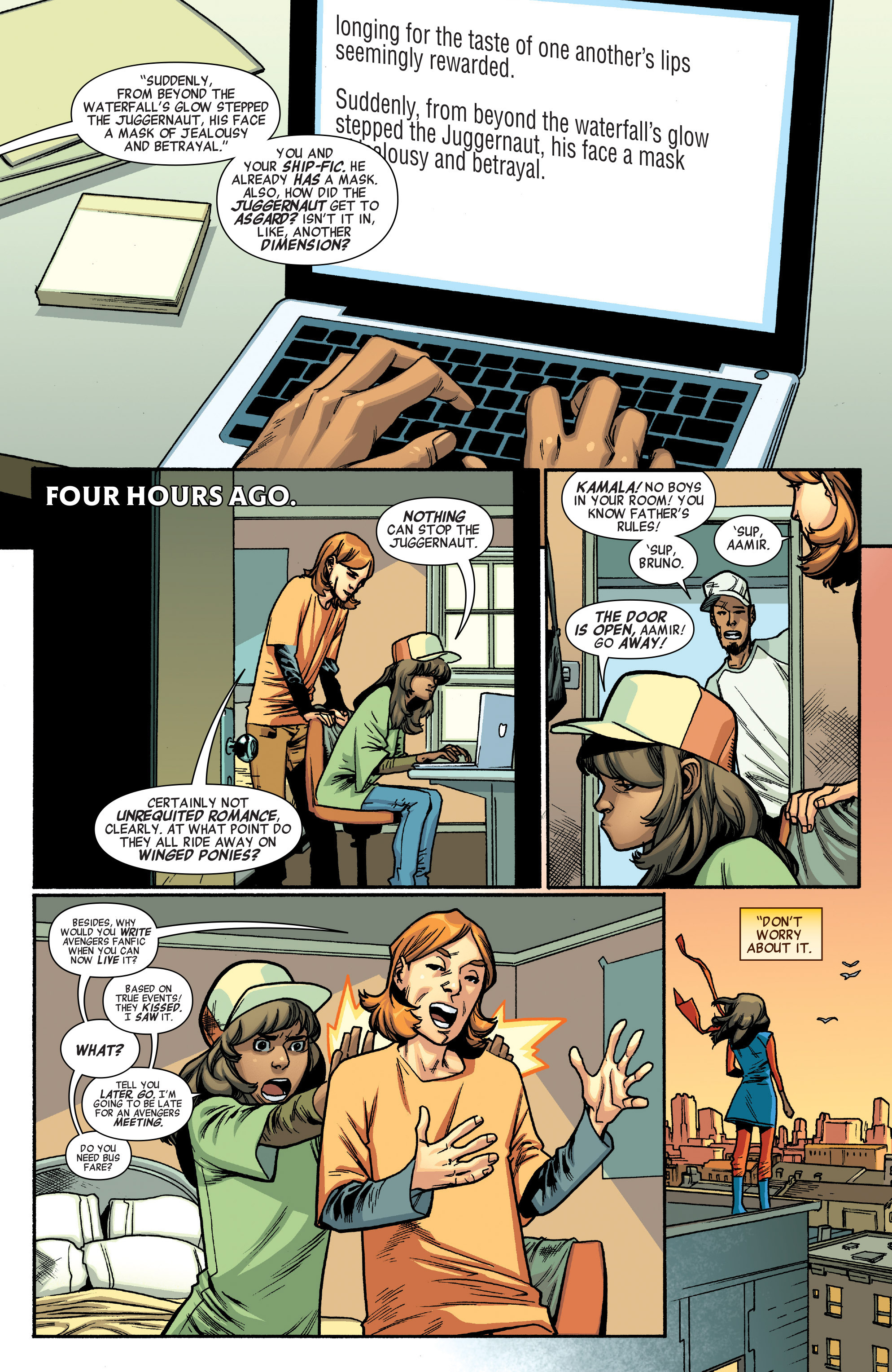 Read online All-New, All-Different Avengers comic -  Issue #5 - 6