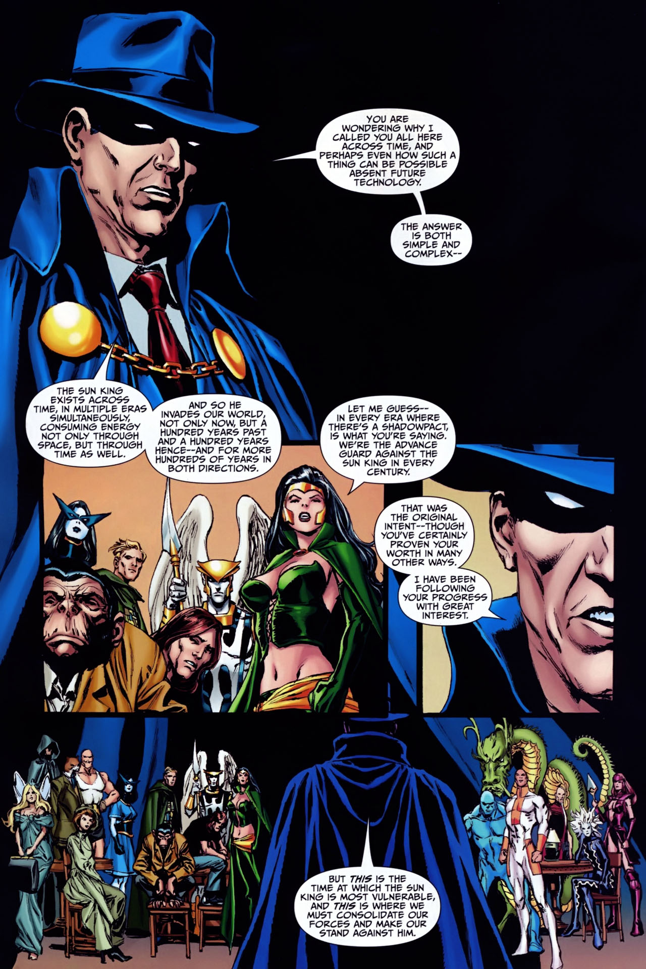 Read online Shadowpact comic -  Issue #24 - 4