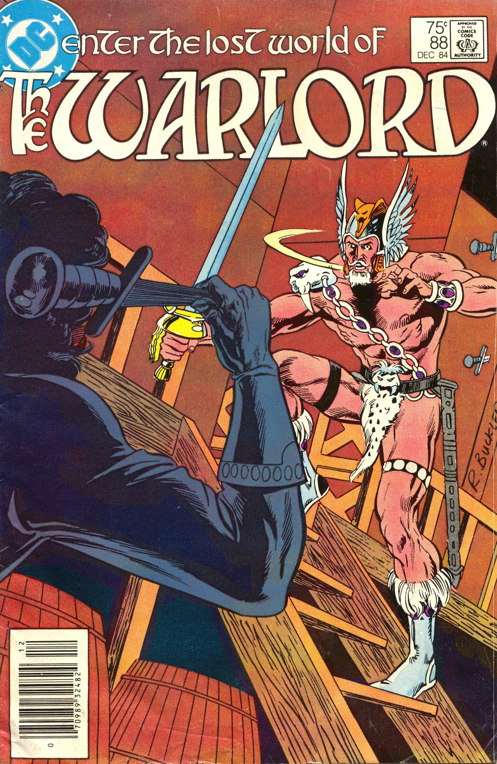 Warlord (1976) 88 Page 1