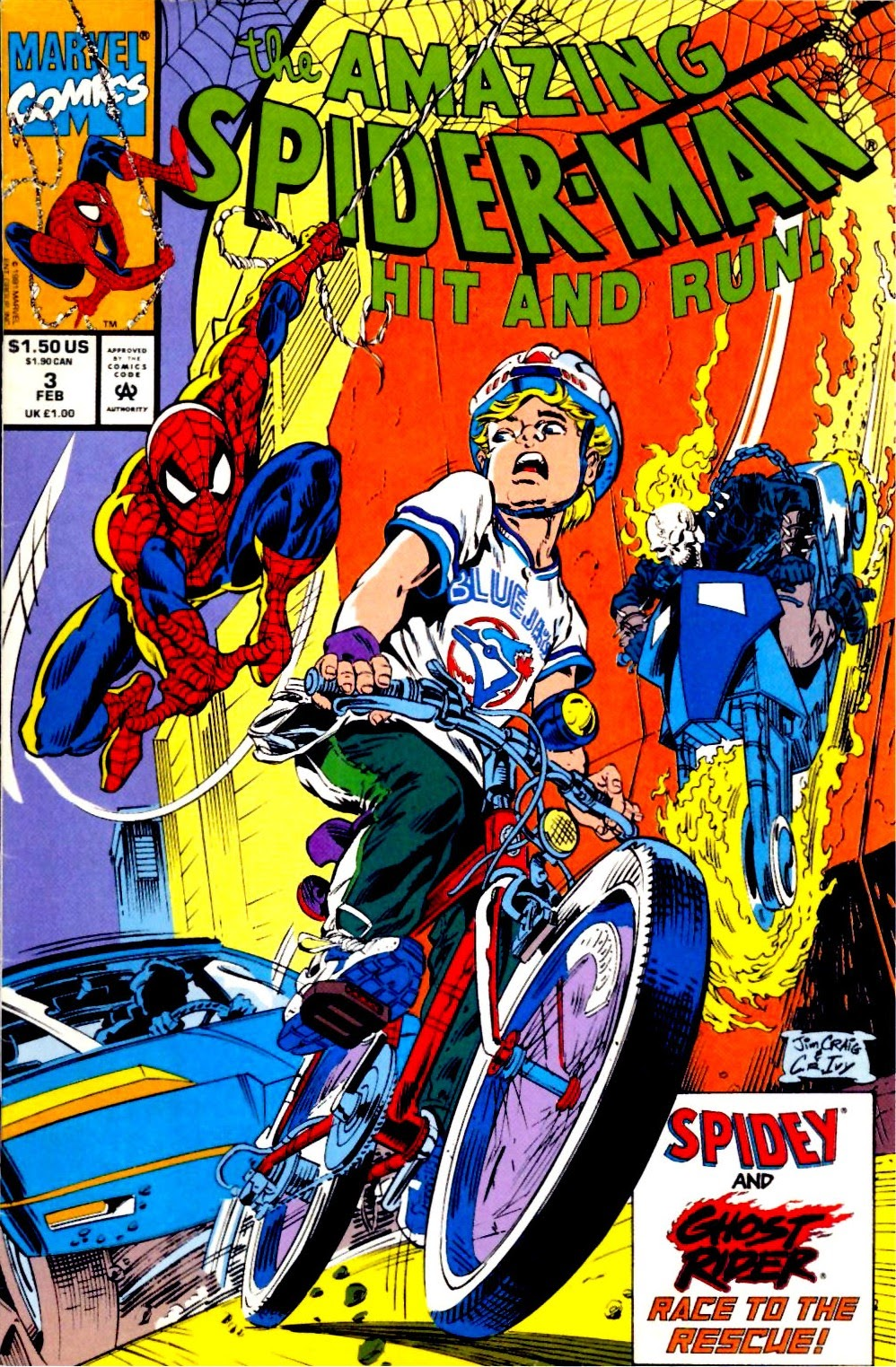 The Amazing Spider-Man: Hit and Run! Full Page 1