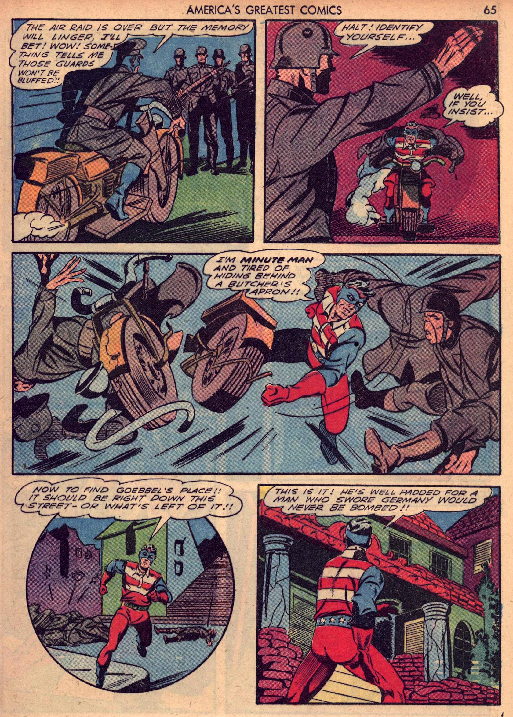 Read online America's Greatest Comics comic -  Issue #7 - 64