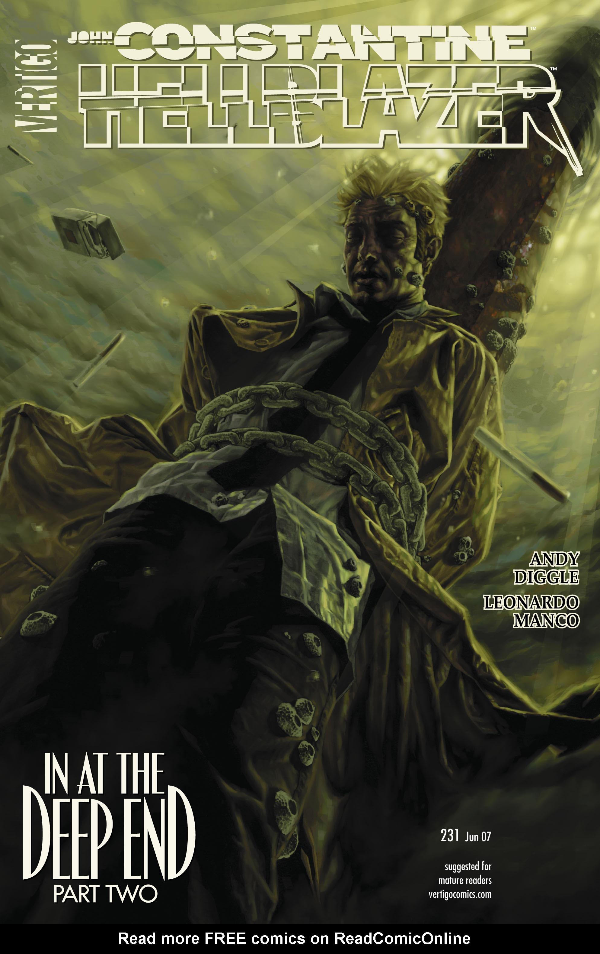 Hellblazer issue 231 - Page 1