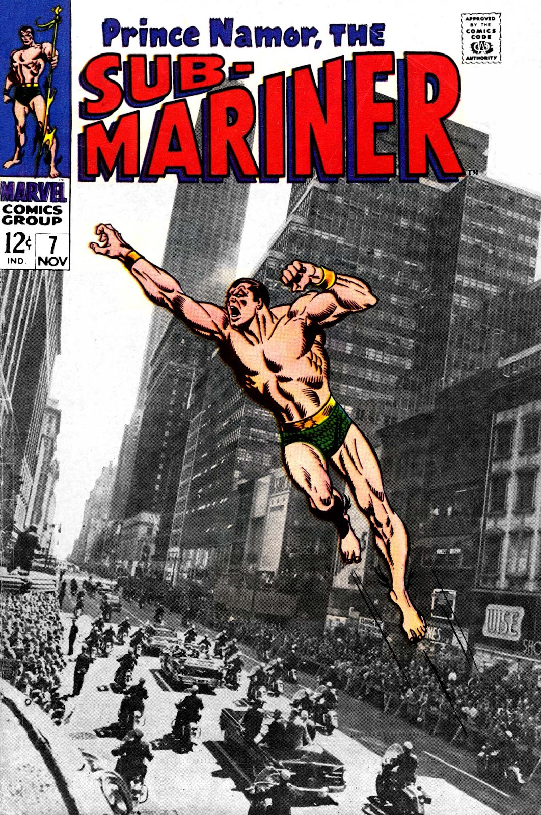 The Sub-Mariner 7 Page 1