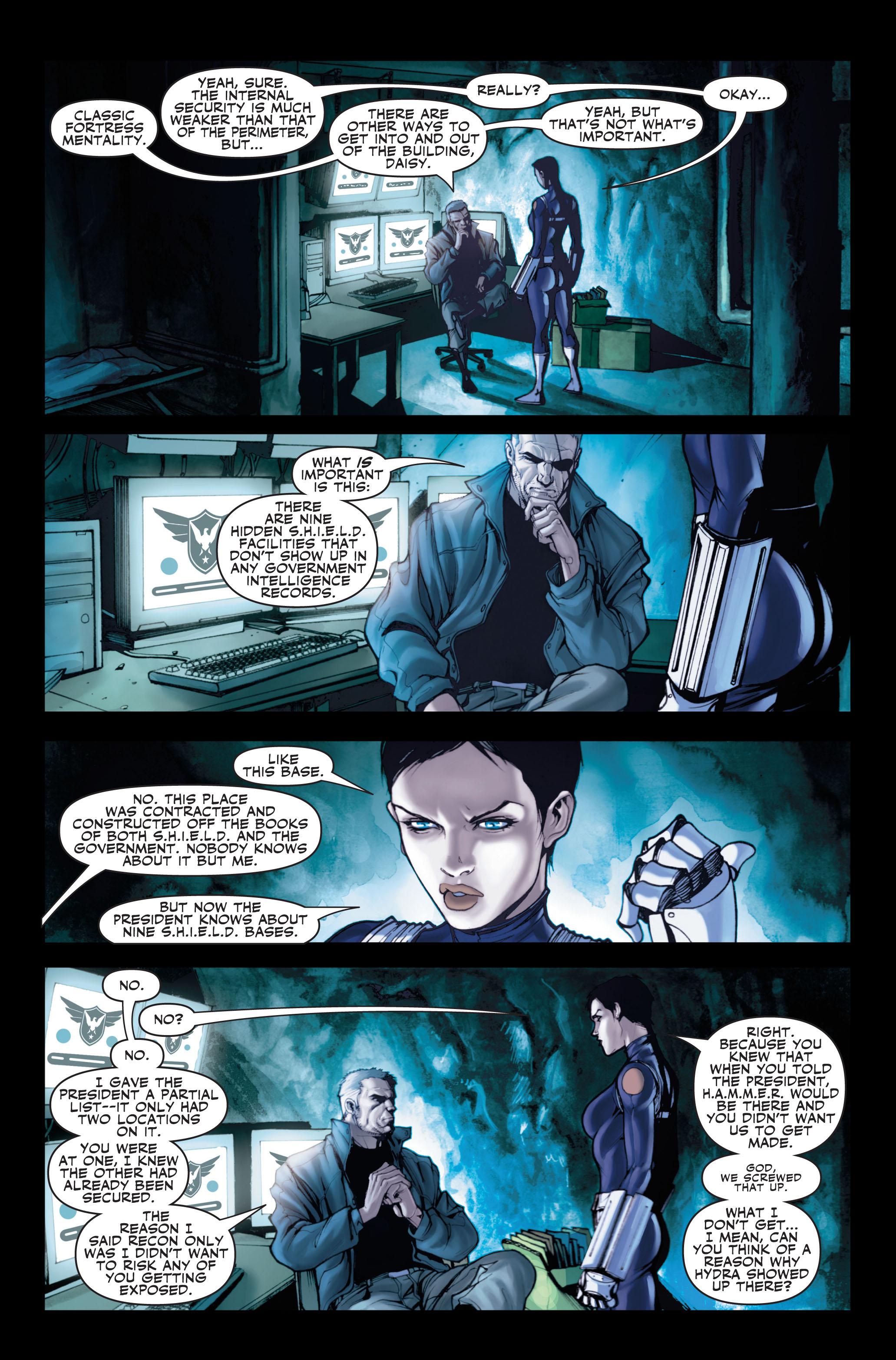 Read online Secret Warriors comic -  Issue #1 - 23