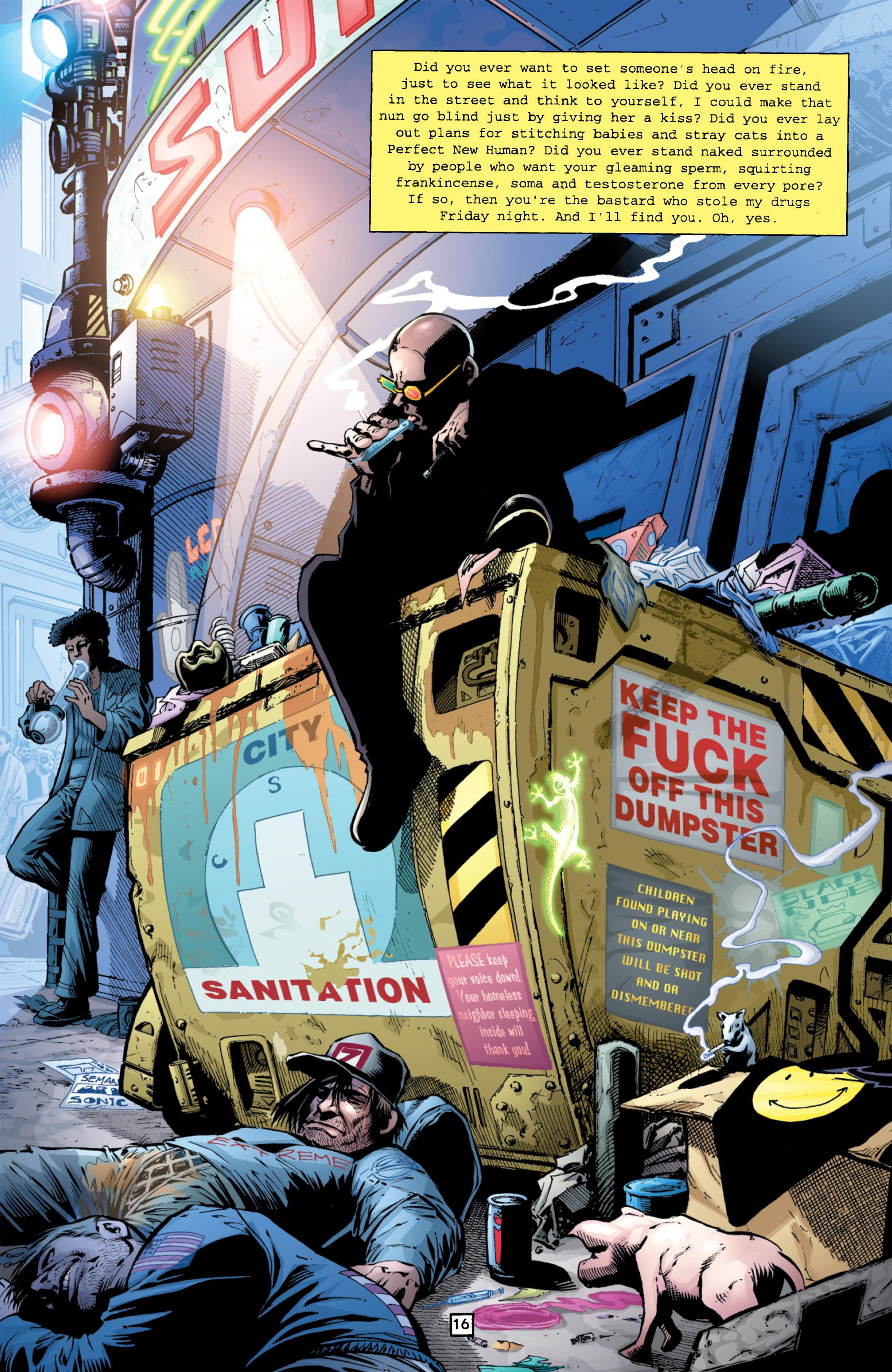 Read online Transmetropolitan comic -  Issue #26 - 17