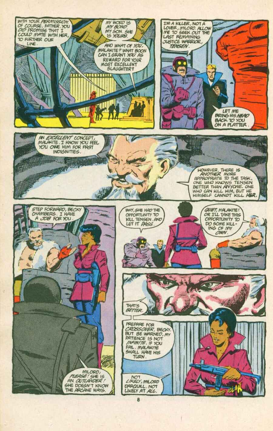 Read online Justice (1986) comic -  Issue #15 - 9