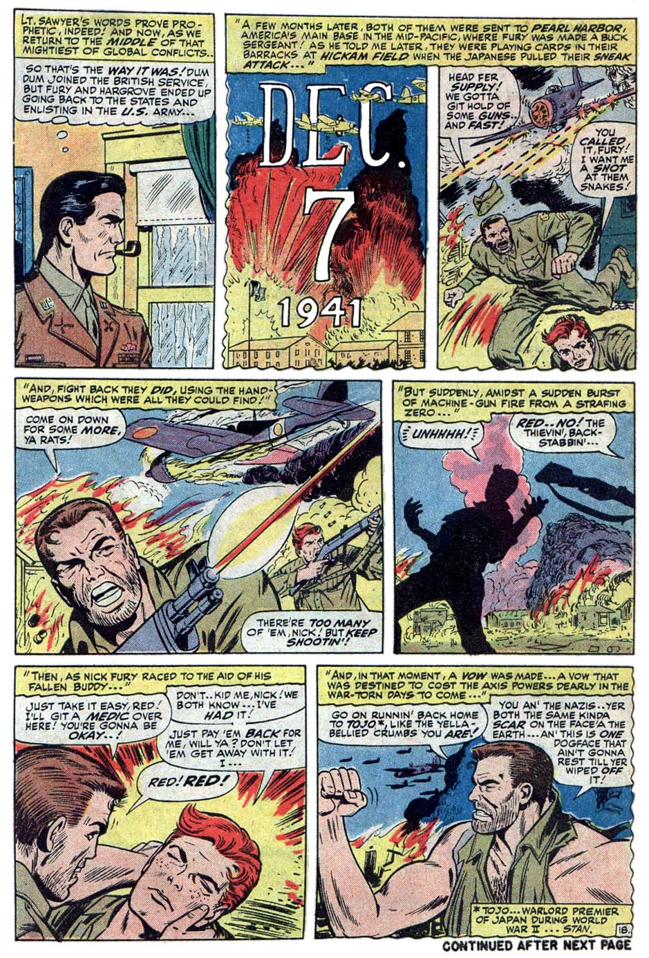 Read online Sgt. Fury comic -  Issue #101 - 30