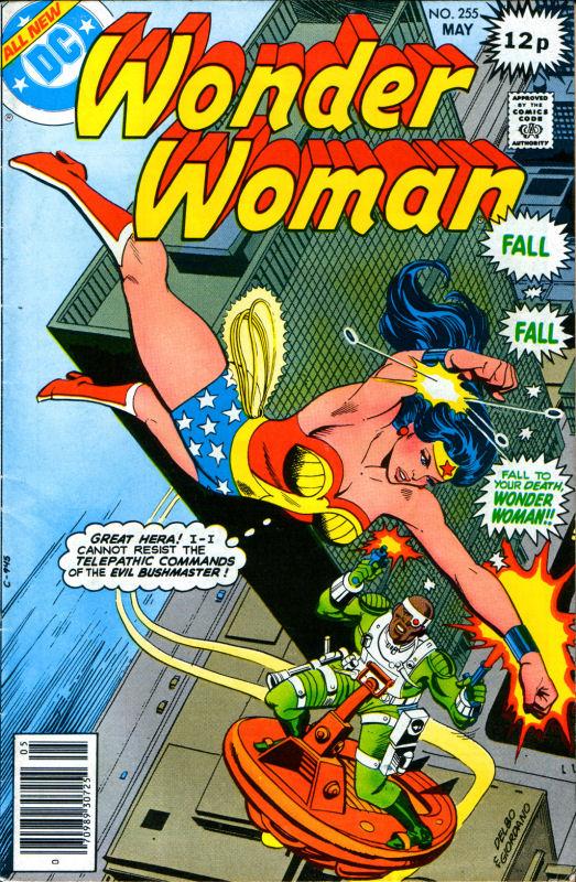 Read online Wonder Woman (1942) comic -  Issue #255 - 1