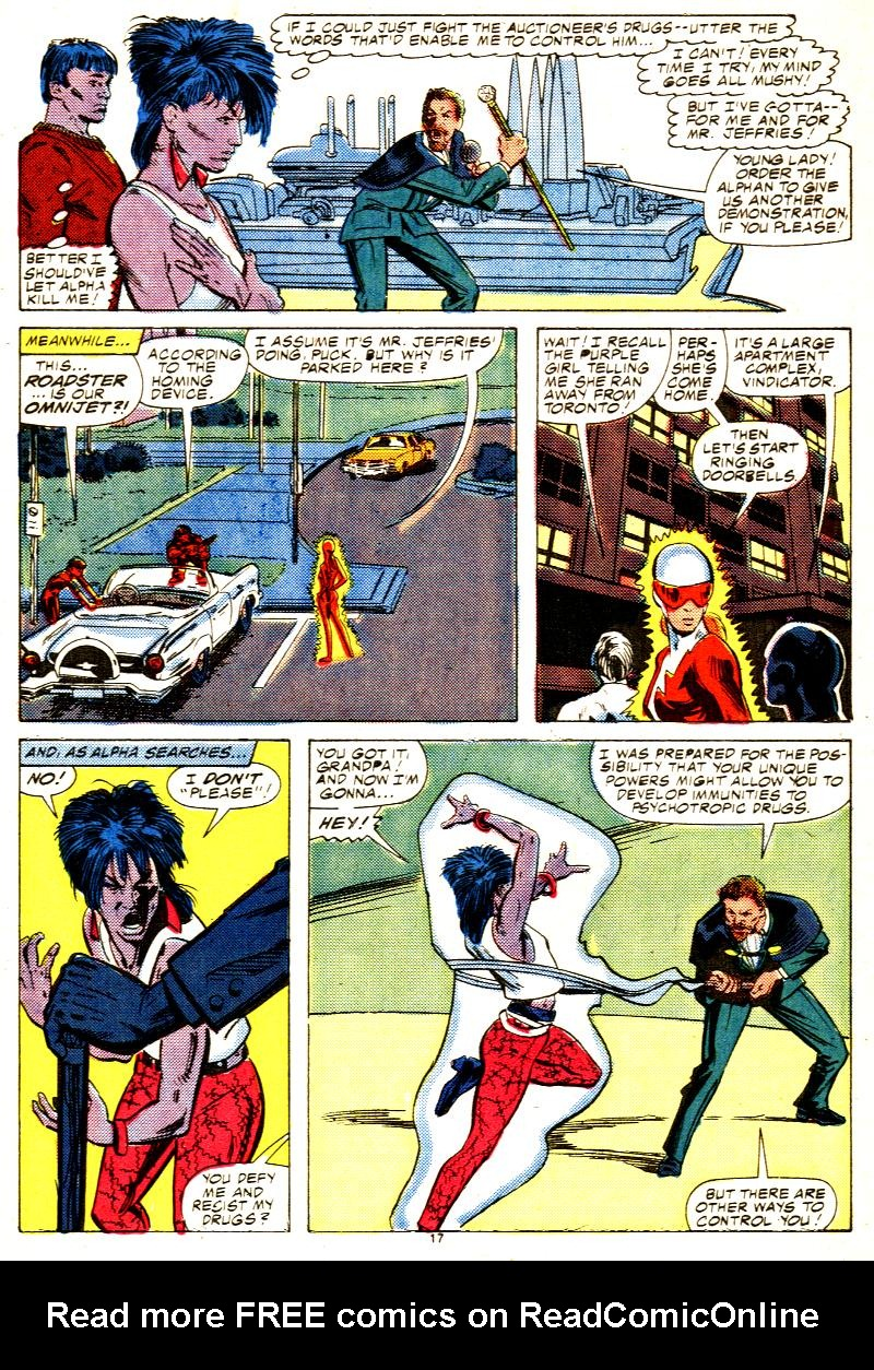 Read online Alpha Flight (1983) comic -  Issue #42 - 18