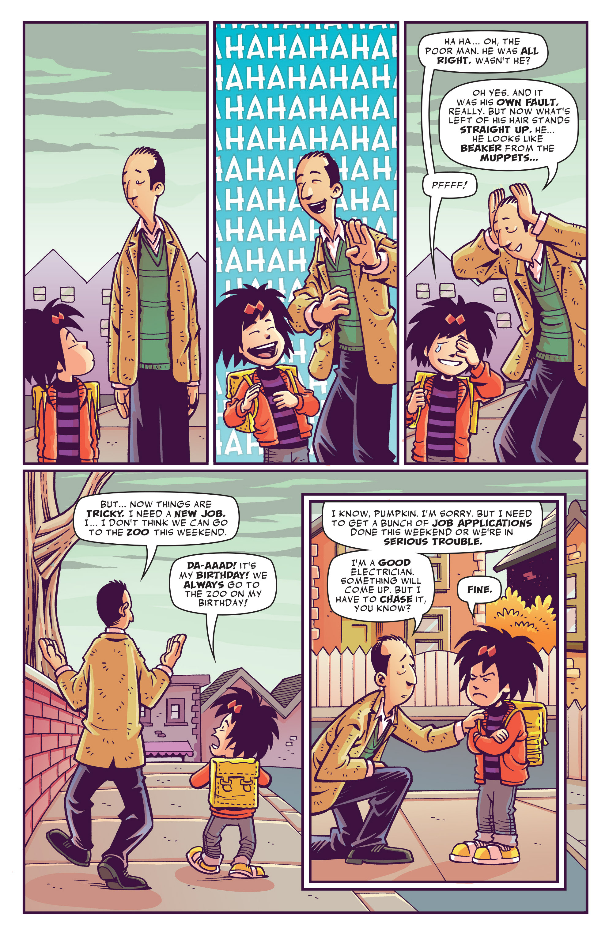 Read online Abigail And The Snowman comic -  Issue #1 - 8