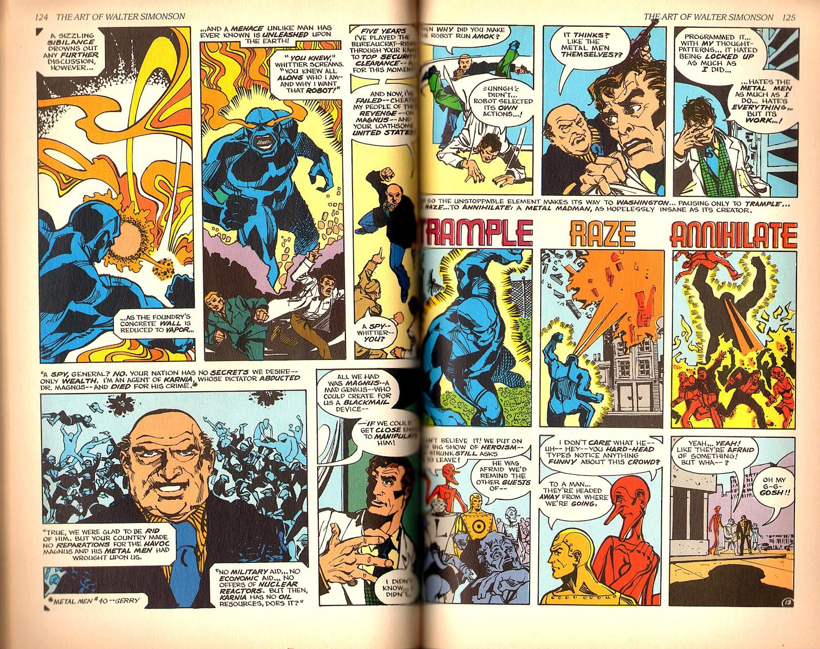 Read online The Art of Walter Simonson comic -  Issue # TPB - 64