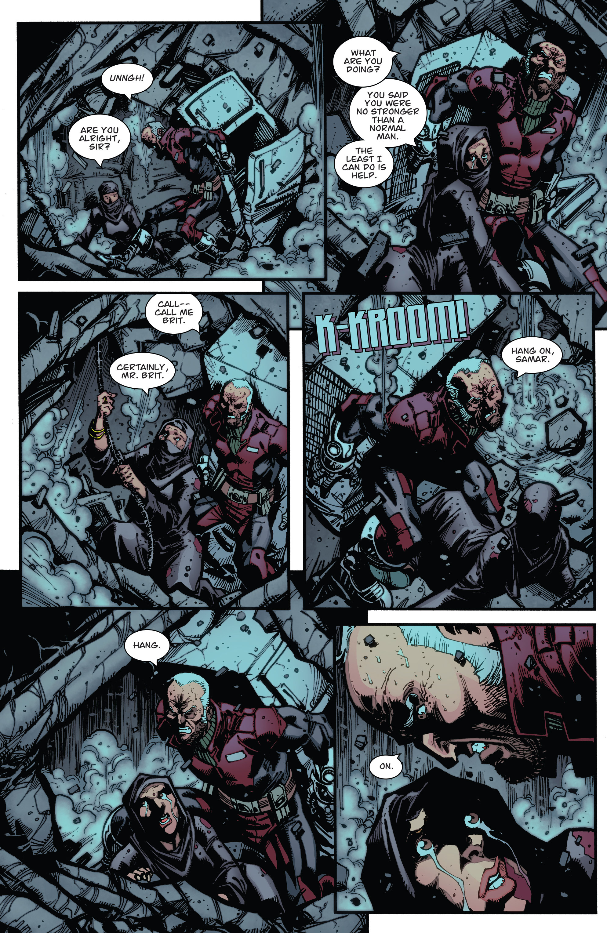 Read online Guarding the Globe (2012) comic -  Issue #6 - 14