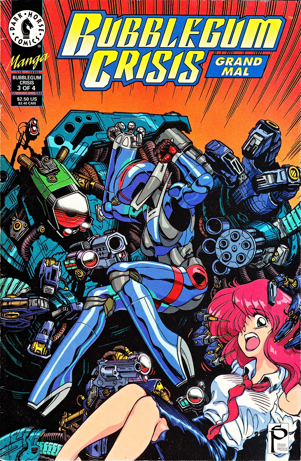 Bubblegum Crisis: Grand Mal issue 3 - Page 1