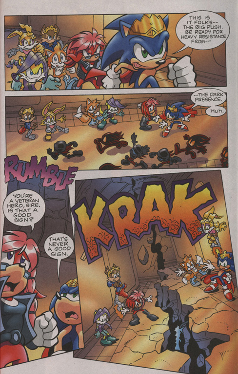 Read online Sonic Universe comic -  Issue #7 - 21