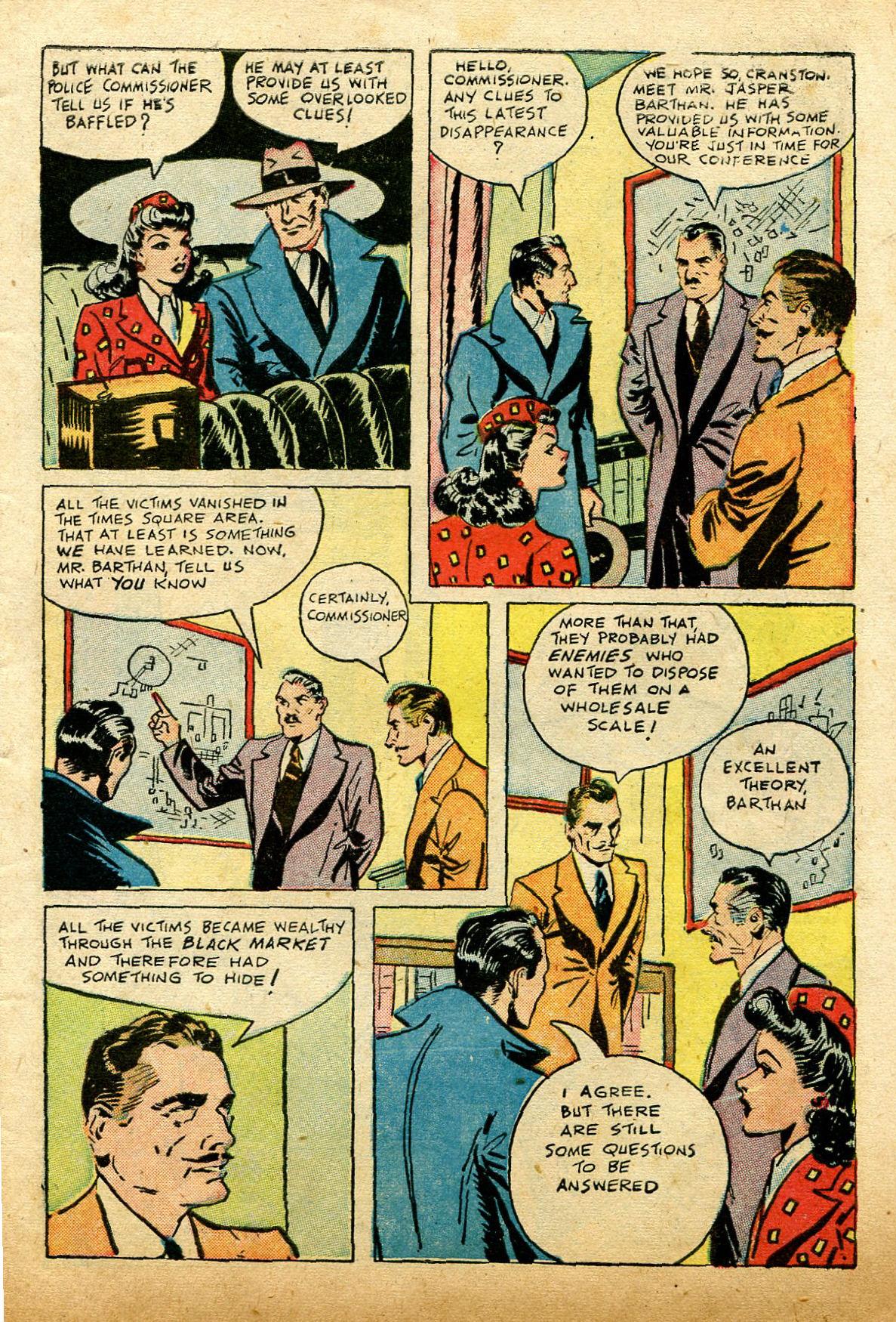 Read online Shadow Comics comic -  Issue #74 - 5