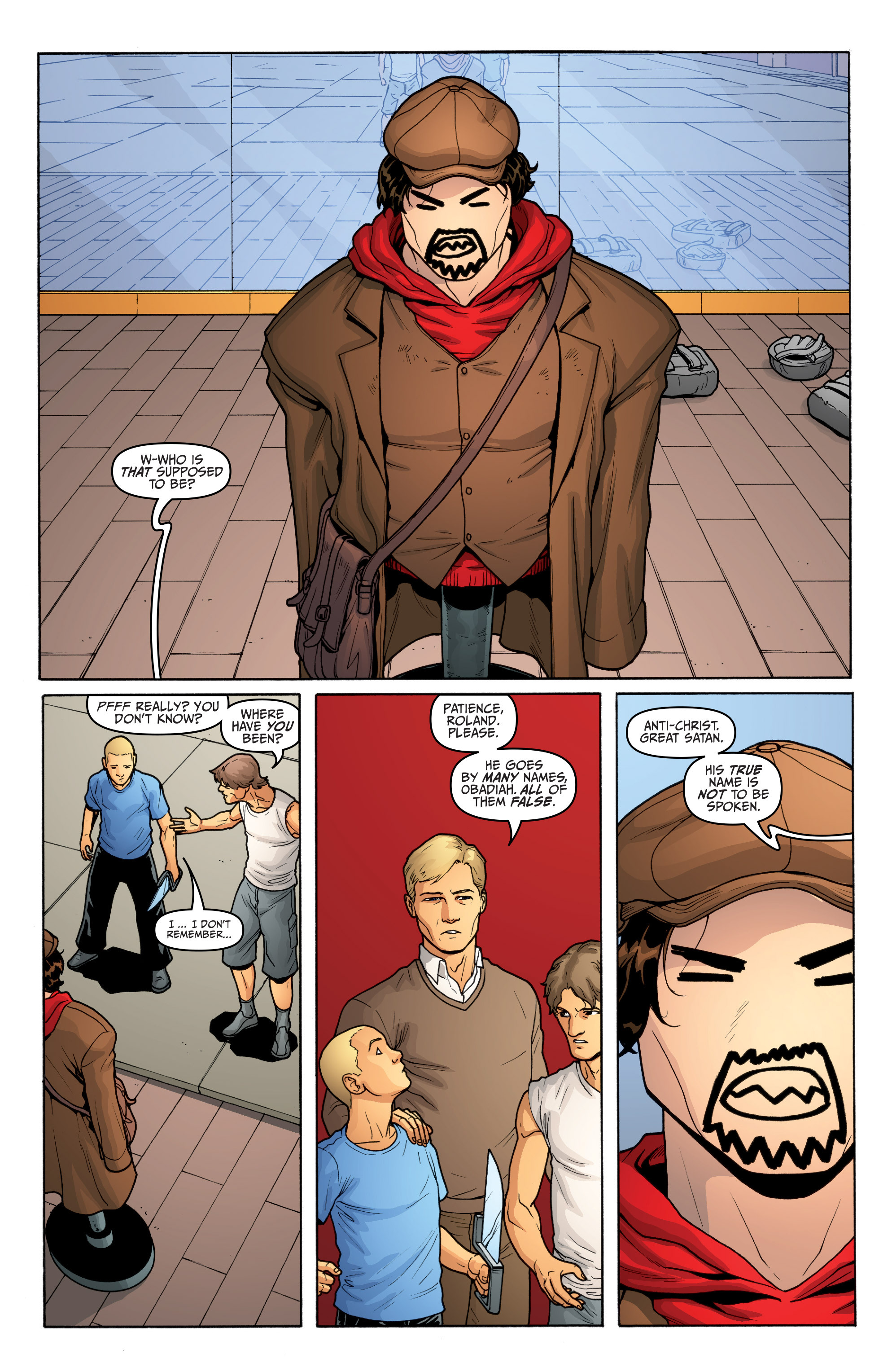 Read online Archer and Armstrong comic -  Issue #Archer and Armstrong _TPB 5 - 18