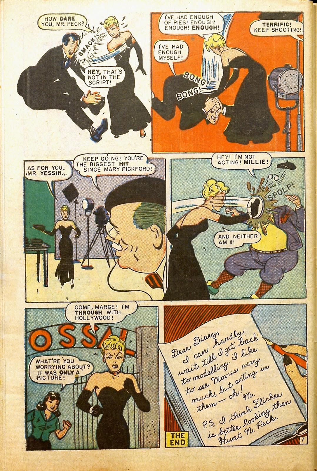 Read online Millie the Model comic -  Issue #2 - 48