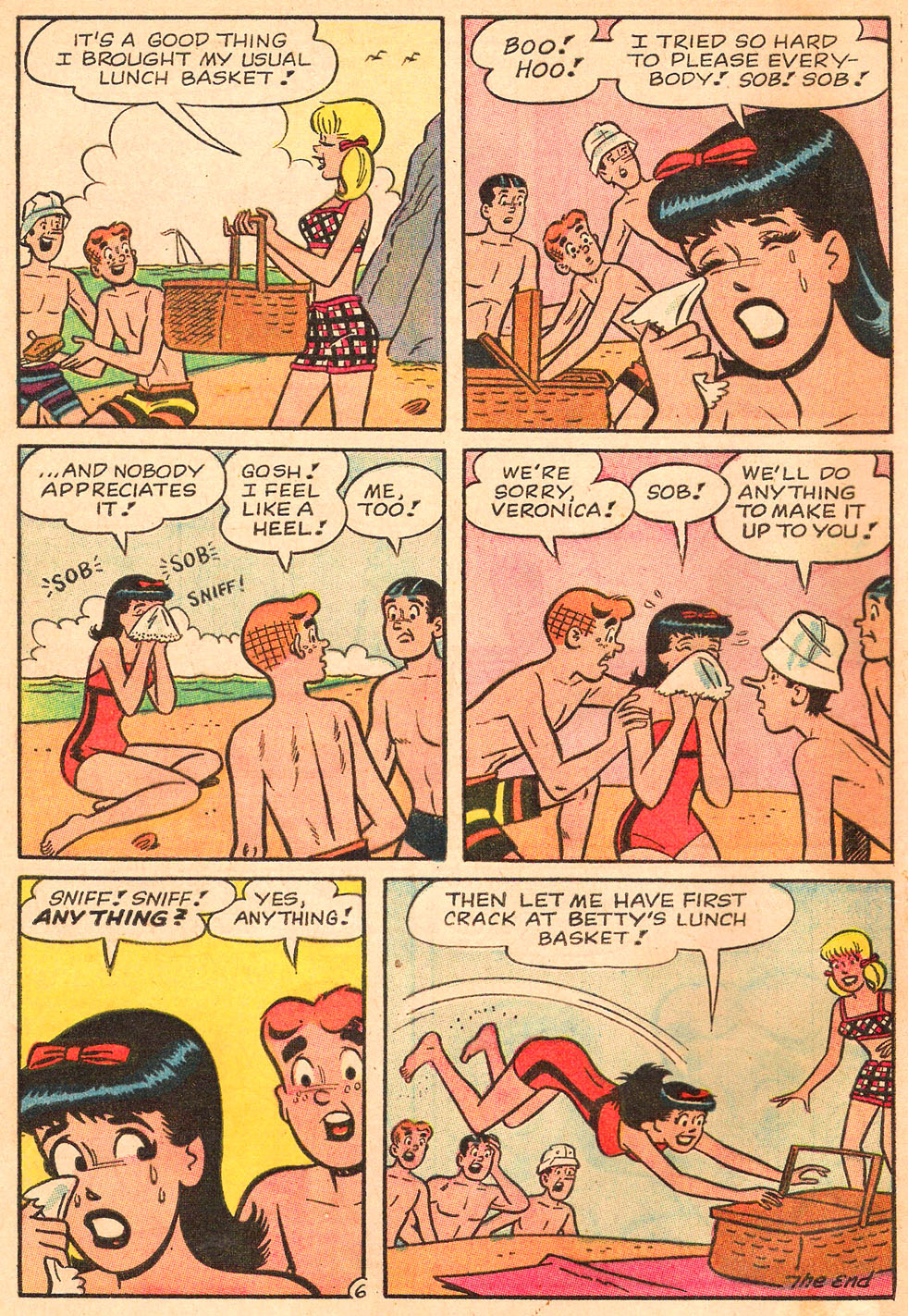 Read online Archie's Girls Betty and Veronica comic -  Issue #130 - 8