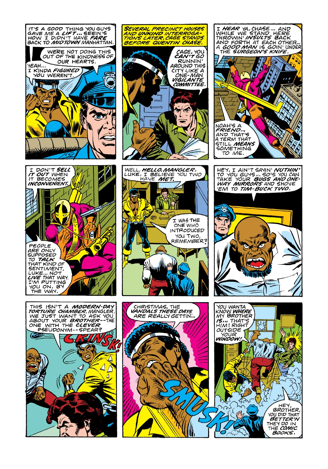 Read online Marvel Masterworks: Luke Cage, Power Man comic -  Issue # TPB 3 (Part 1) - 67