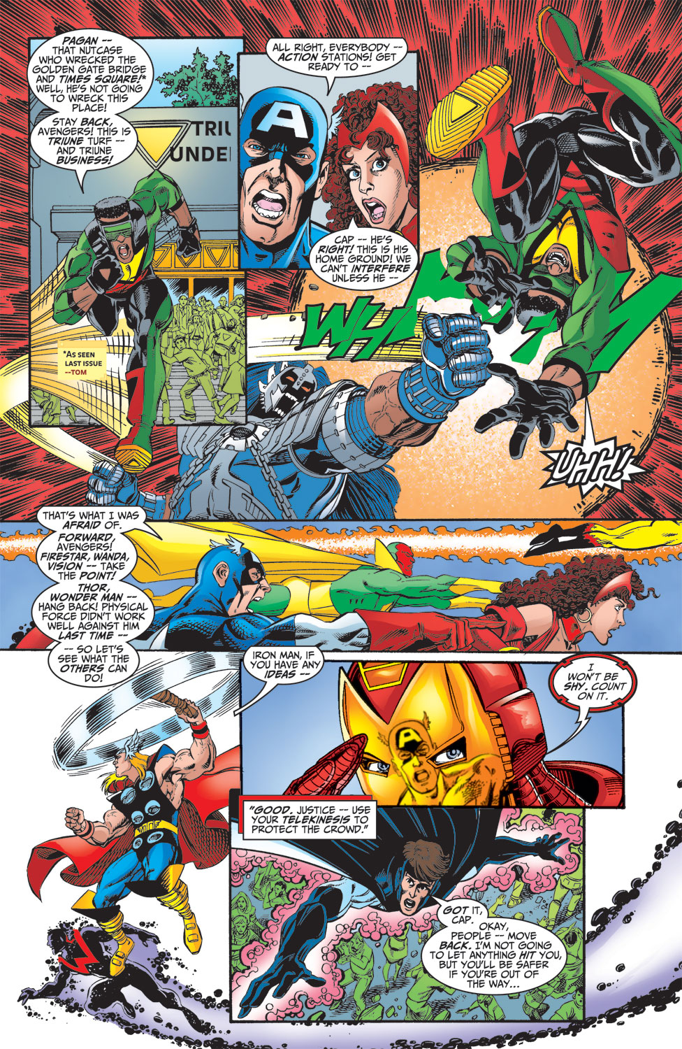 Read online Avengers (1998) comic -  Issue #15 - 12