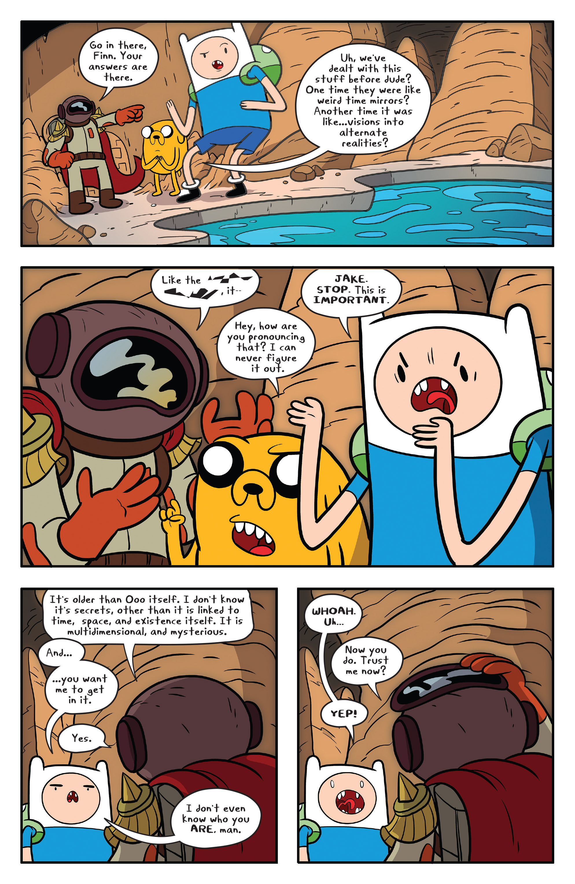 Read online Adventure Time comic -  Issue #59 - 20
