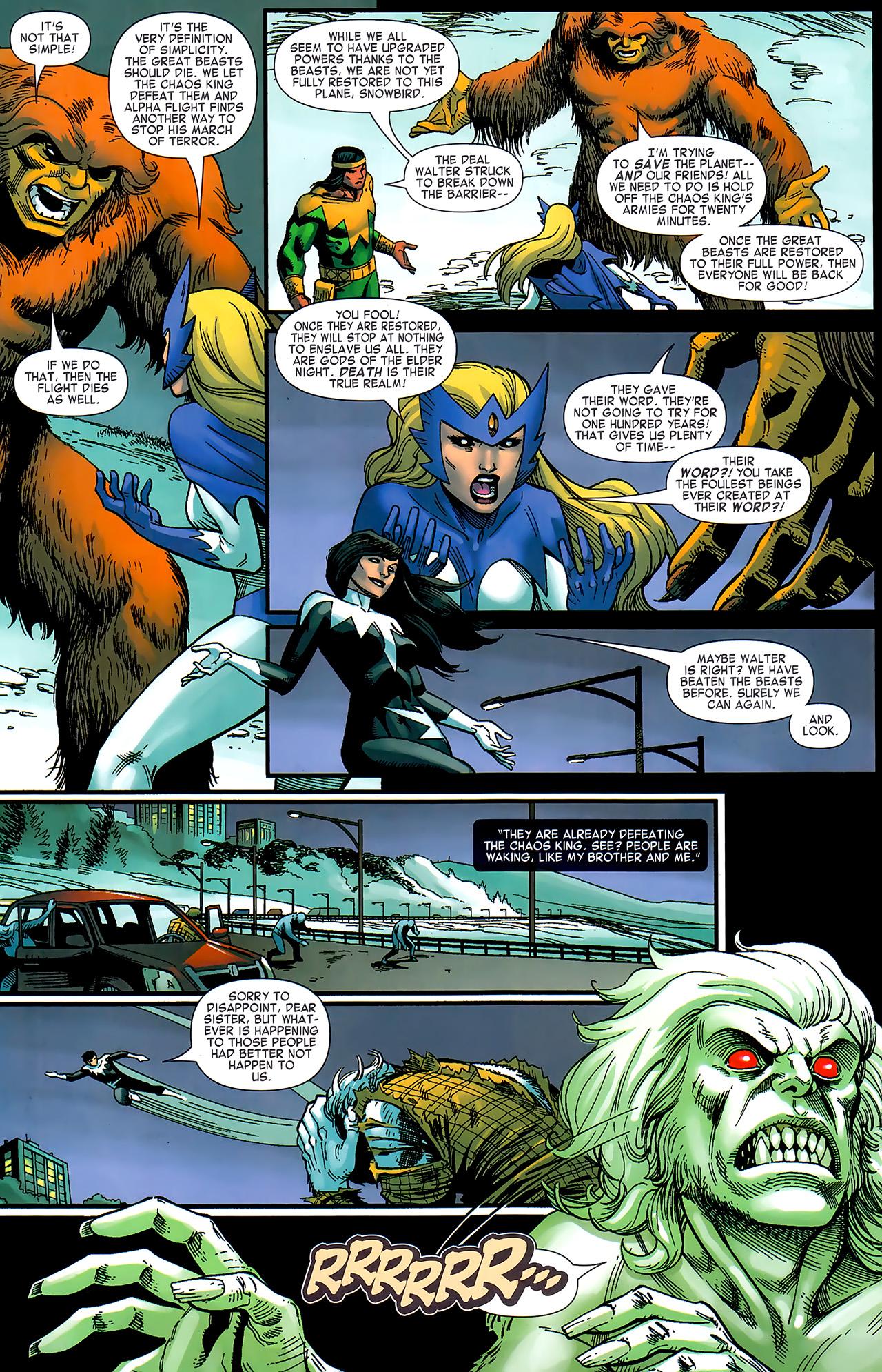 Read online Chaos War: Alpha Flight comic -  Issue # Full - 14