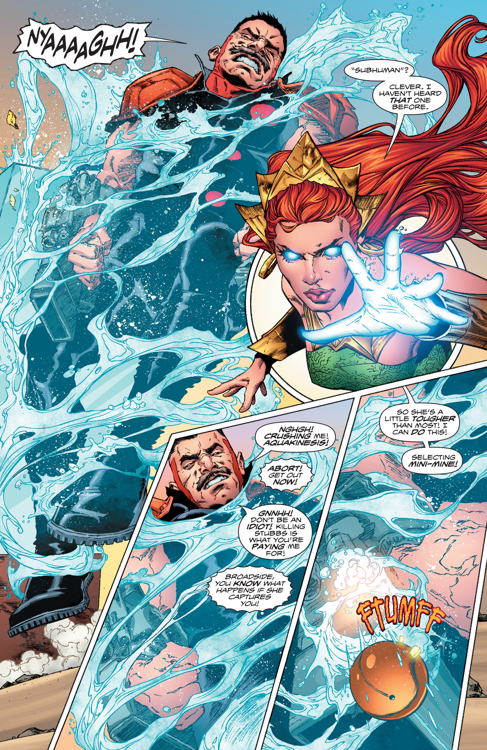 Read online Aquaman (2016) comic -  Issue #10 - 19