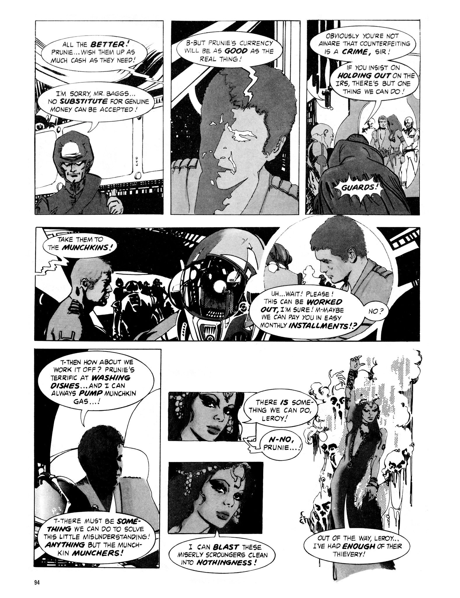 Read online Eerie Archives comic -  Issue # TPB 16 - 95