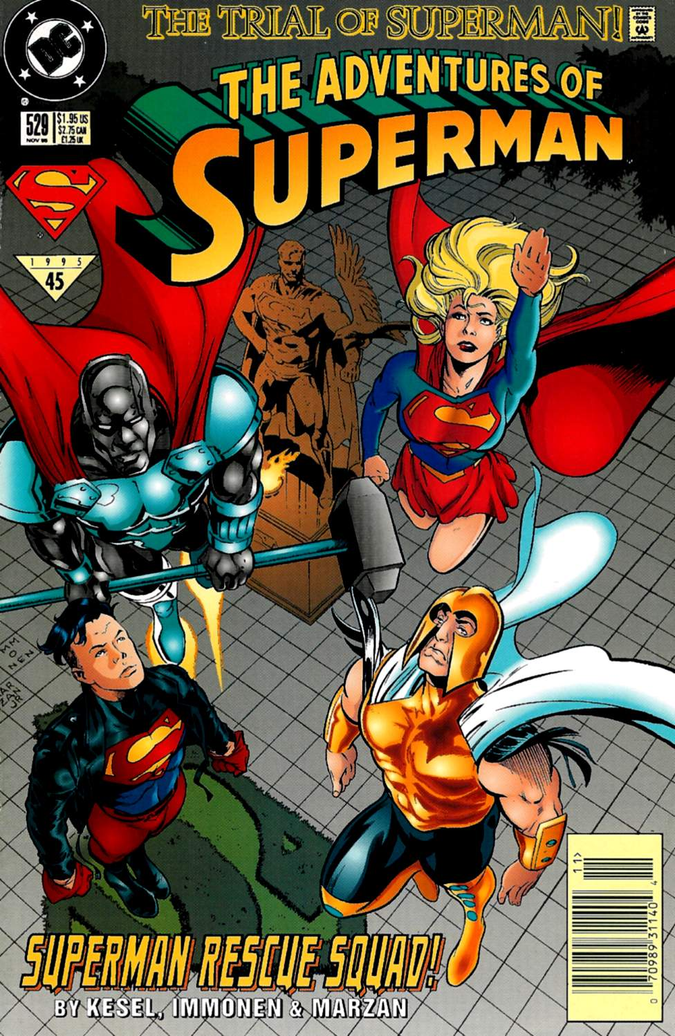 Read online Adventures of Superman (1987) comic -  Issue #529 - 1