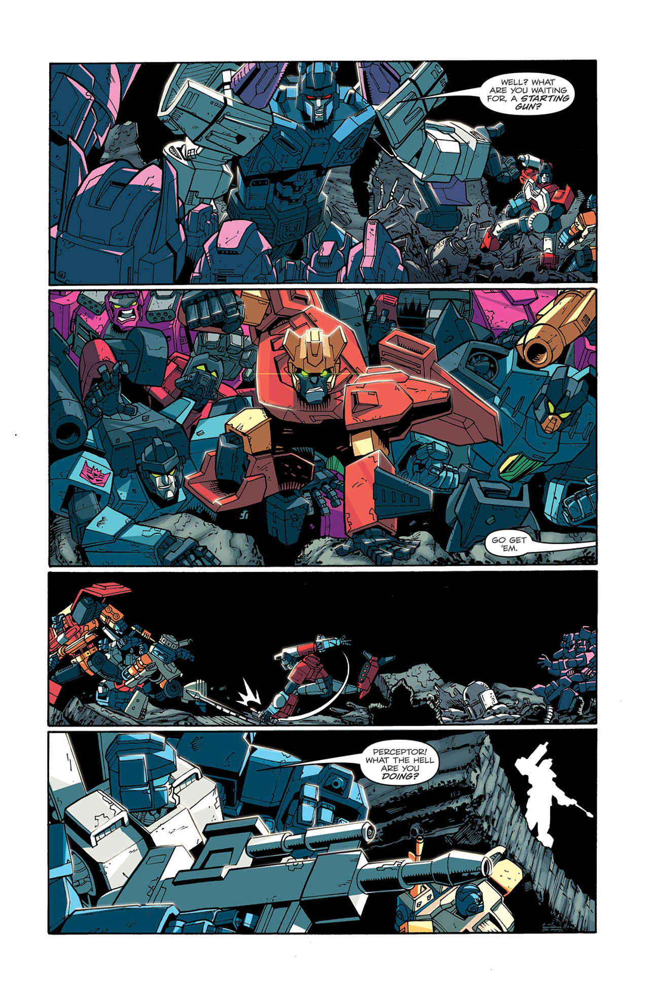 Read online Transformers: Last Stand of The Wreckers comic -  Issue #3 - 18