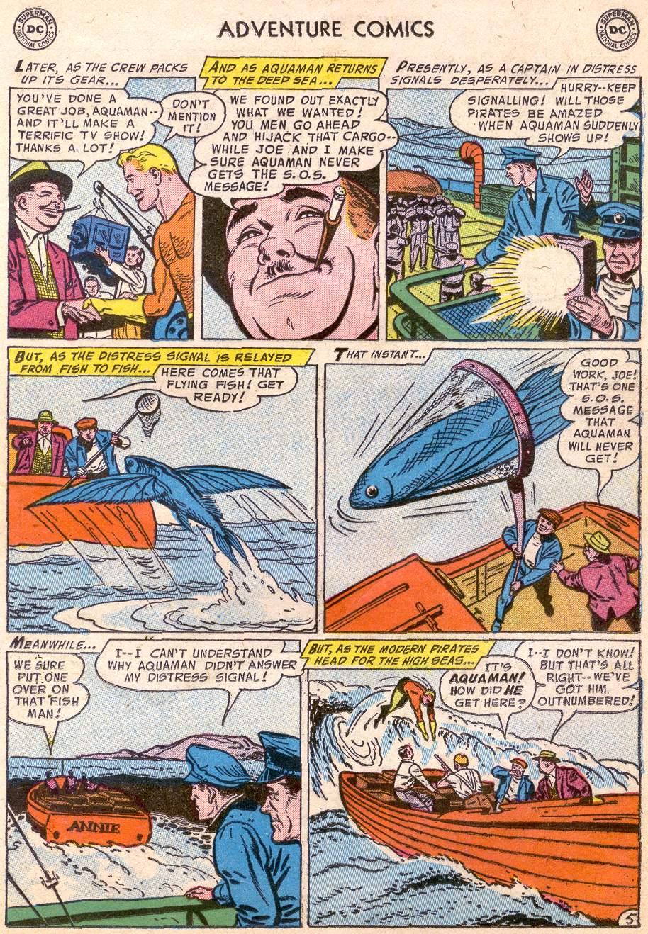 Read online Adventure Comics (1938) comic -  Issue #227 - 21