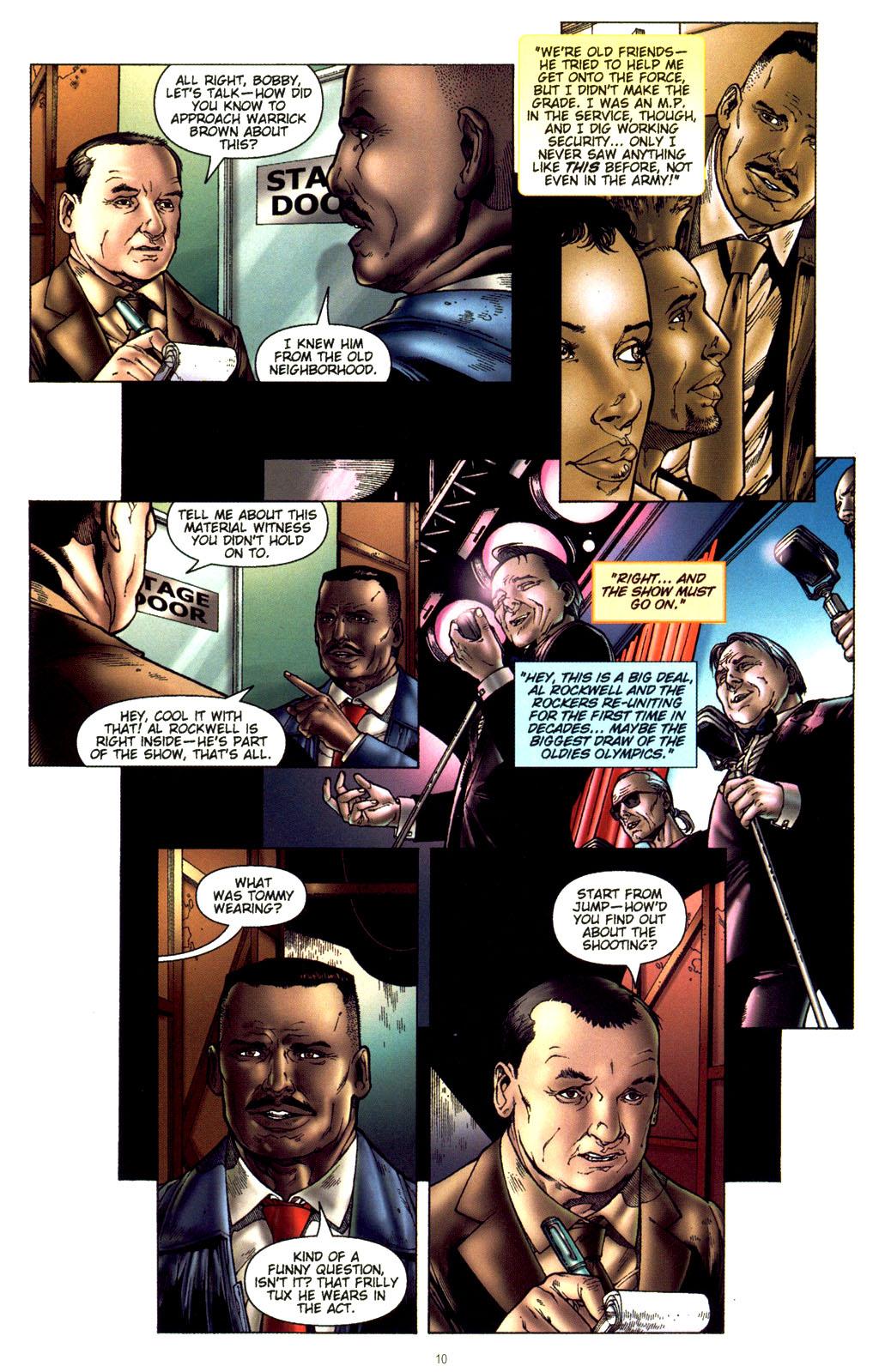 Read online CSI: Crime Scene Investigation: Bad Rap comic -  Issue #2 - 11