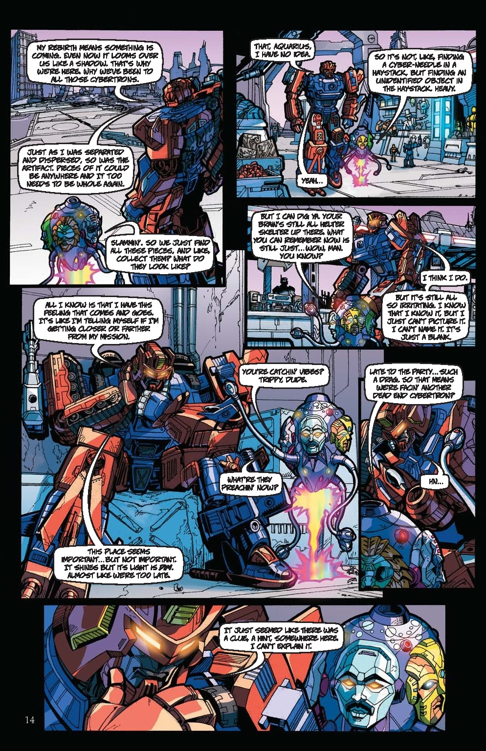Read online Transformers: Collectors' Club comic -  Issue #31 - 14