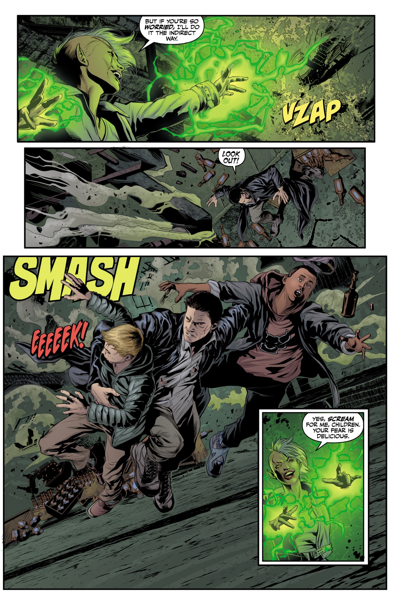 Read online Angel & Faith Season 10 comic -  Issue #4 - 6