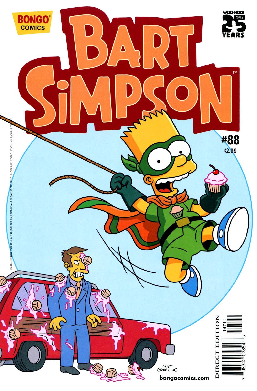 Simpsons Comics Presents Bart Simpson 88 Page 1