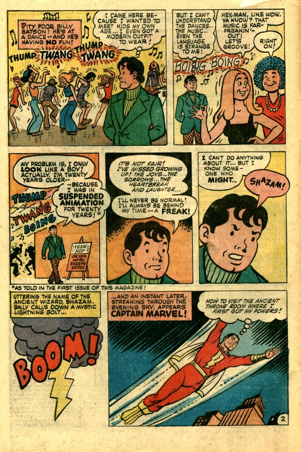 Read online Shazam! (1973) comic -  Issue #3 - 3