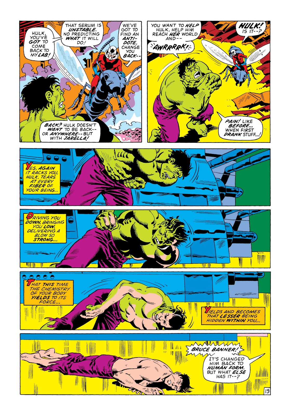 Read online Marvel Masterworks: The Incredible Hulk comic -  Issue # TPB 8 (Part 3) - 37