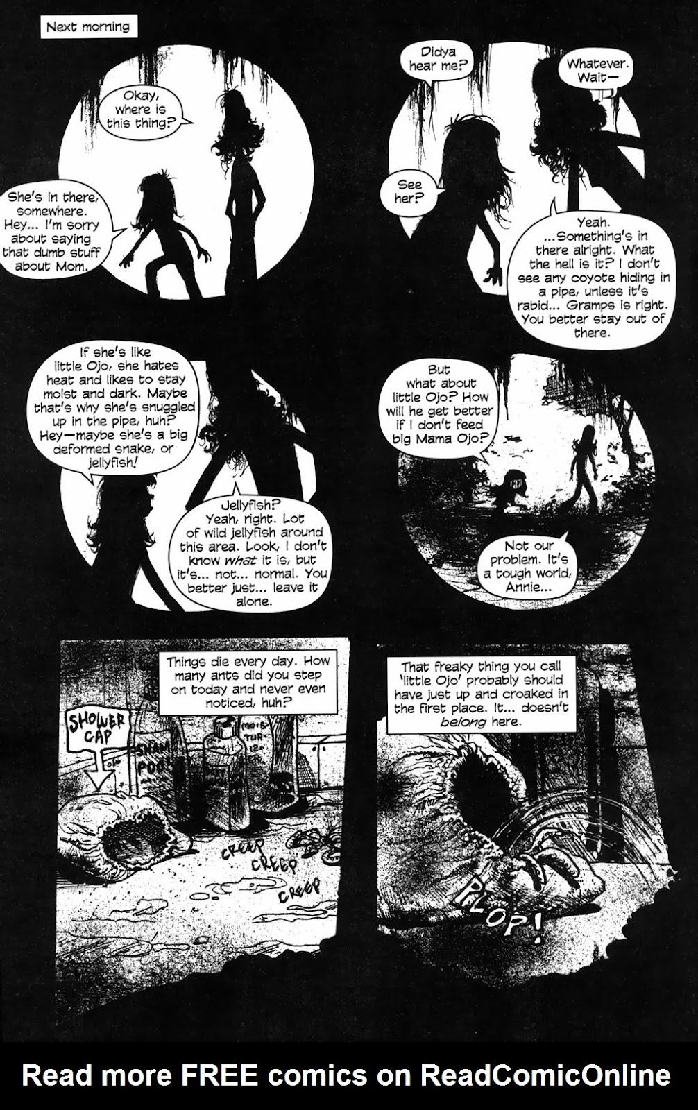 Read online Ojo comic -  Issue #2 - 22